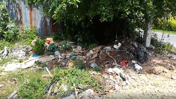 Problems persists with illegal trash dumps appearing around the city.