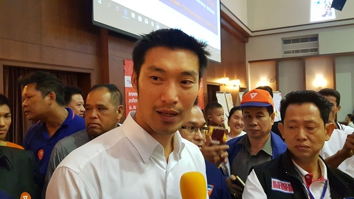 Thanathorn Juangroongruangkit, leader of the Future Forward Party, criticized the government's Eastern Economic Corridor project, saying it will do little to improve the quality of life for most Eastern Seaboard residents.