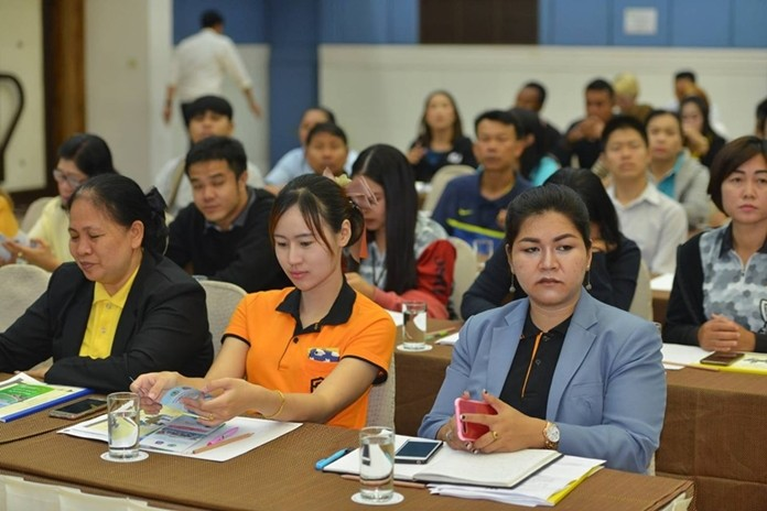 Pattaya hotel and condominium operators were told how to minimize and report illegal drug use at a seminar aimed at ensuring they're operating within the law.