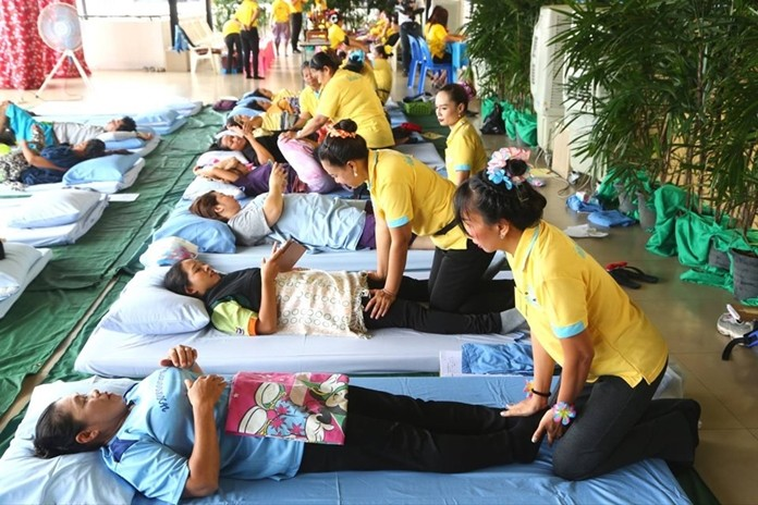 Pattaya is offering free Thai massage training through the end of July.