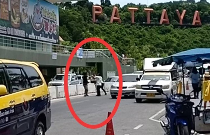 Videos popped up online of bus and taxi drivers shouting, fighting and threatening each other, tourists cowering and traffic gridlocked by cars, trucks and buses parked in no-parking zone.