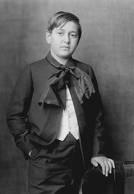 Erich Wolfgang Korngold in 1913.
