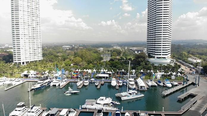Ocean Marina Yacht Club will host the 8th Ocean Marina Pattaya Boat Show from 21 – 24 November, 2019.