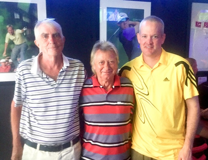 (From L to R) Dick Braimbridge, Keith Buchanan and Brad Todd.