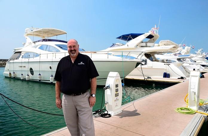 Scott Finsten, Habour Master at Ocean Marina Yacht Club.