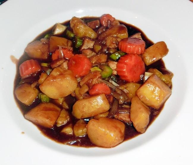 The Norwegian Pork Stew, simple and very nourishing.