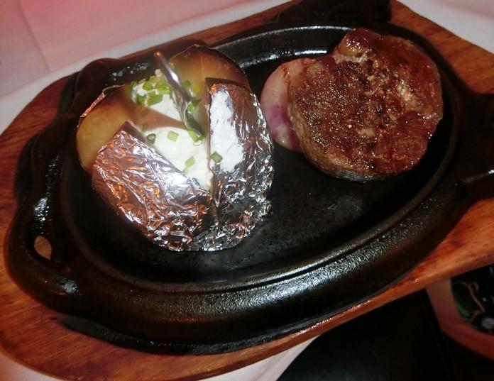 Linda's Pepper Steak on the hotplate