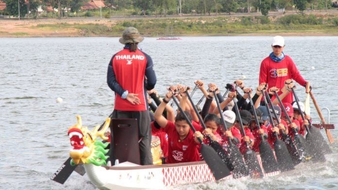 Pattaya City hosts the 14th IDBF World Dragon Boat Racing championships during August 20-25, 2019 at Mapprachan Reservoir