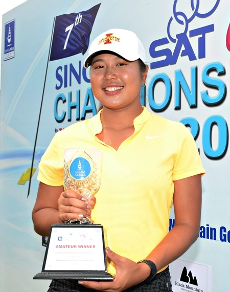 Chayanit Wangmahaporn, a student in Iowa, USA, was the best amateur.