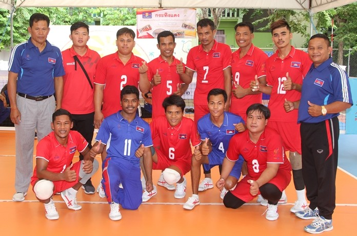 Cambodia were the winners of the friendly tournament in Pattaya.