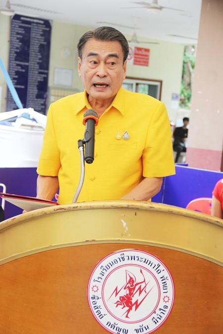 Ronnakit Ekknarin, Deputy Mayor of Pattaya, presided over the opening ceremony for the event.
