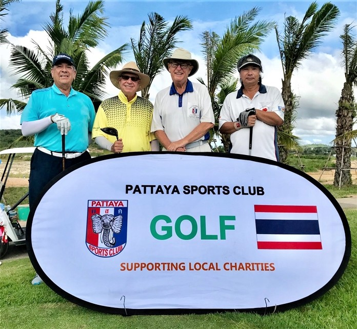 The latest Pattaya Sport Club (PSC) monthly golf tournament took place on August 15 at Parichat International Golf Links.