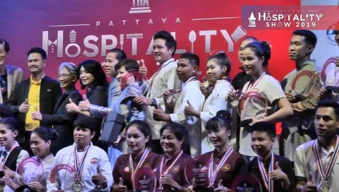 Category award winners and runners-up at this year's event received 10,000, 8,000 and 5,000 baht in prize money respectively.