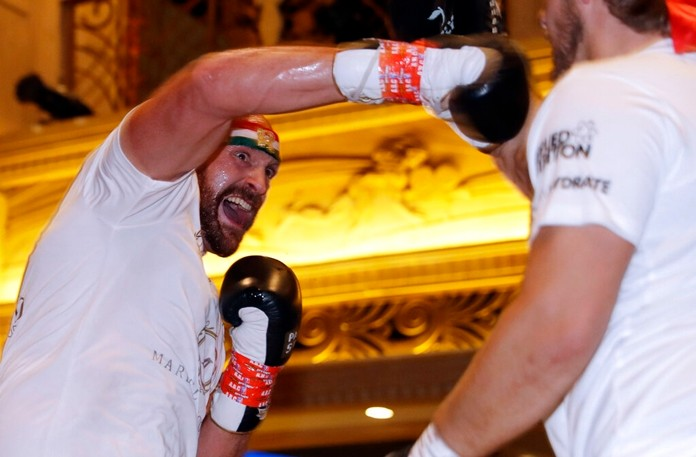 Tyson Fury ignores Deontay Wilder talk on Vegas return