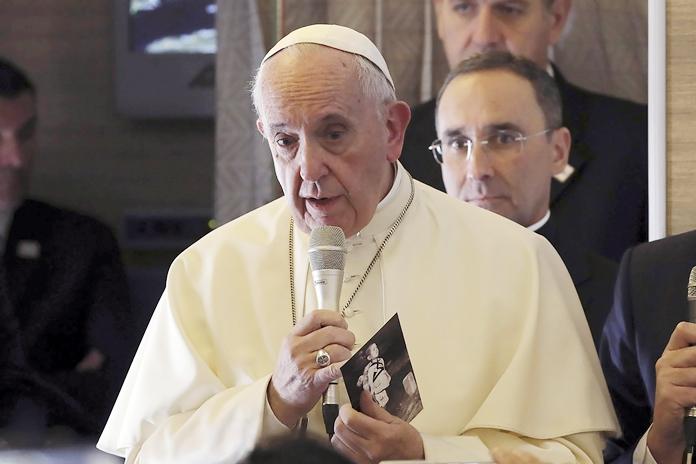The Vatican said Friday, Sept. 13, Pope Francis will visit Thailand Nov. 20-23. (AP Photo/Alessandra Tarantino, File)