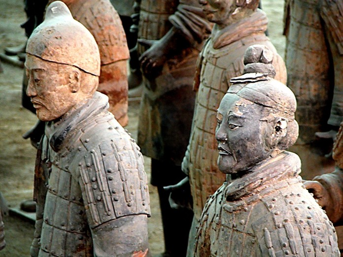 China's Terracotta Warriors will be on display in Bangkok from Sept. 15 – Dec. 15. (Photo Peter Morgan/Wikipedia)