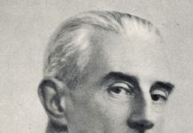Composer Maurice Ravel.