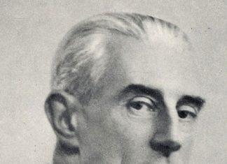 Composer Maurice Ravel.