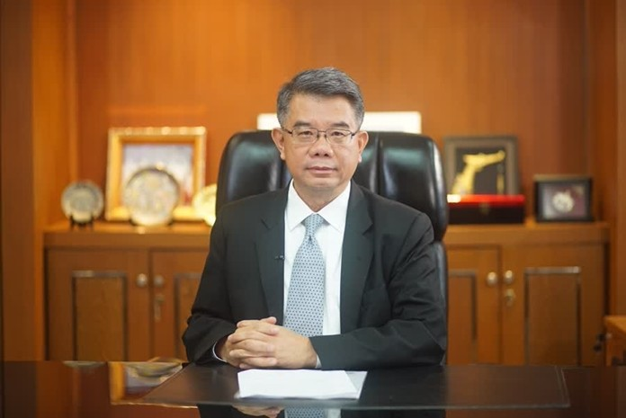 Adul Chotinisakorn, Director-General of the Department of Foreign Trade.