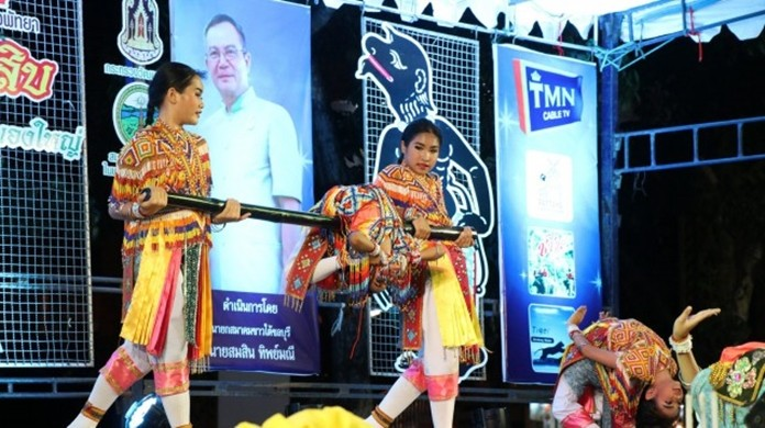 The festival included Manohra dance performances to honor the spirits of dead relatives and ancestors.