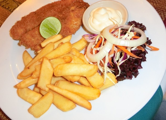 Yupin's Fish & Chips are among the best in town.