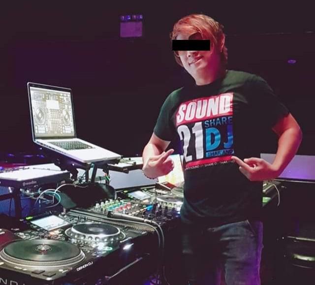 "Dusit Piekummuang, aka ""DJ First""."