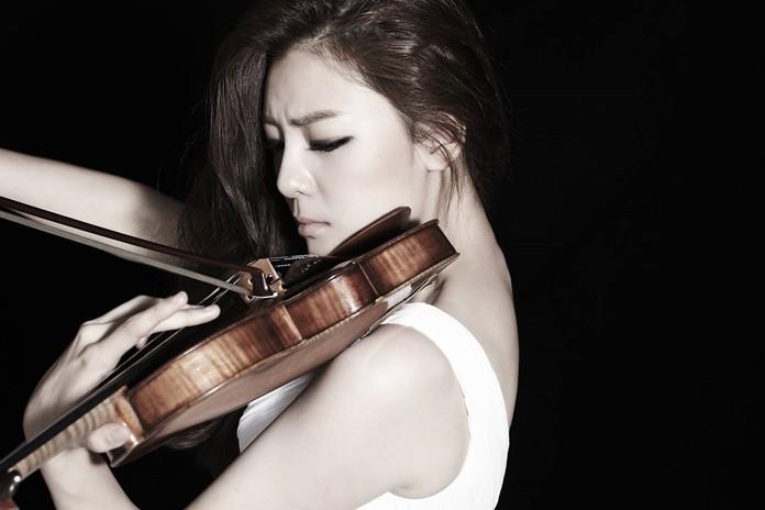 Violinist Clara-Jumi Kang.