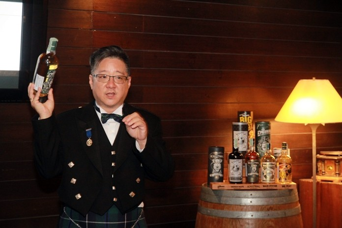 """Leading us on the knowledge trail was Paul Wang, a chatty """"Scotsman"""" in full regalia."""