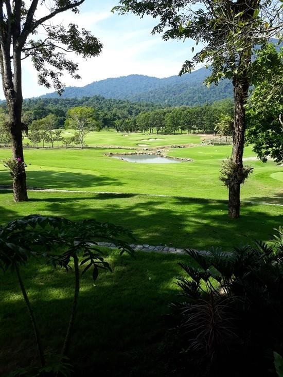 Soi Dao golf course.