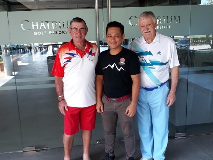 Tim Knight,Wim& John Player.