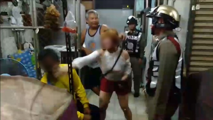 Police were called to a dispute at an unnamed hourly rental room on Pattaya 2nd Road at 1.30 a.m. Oct. 1.