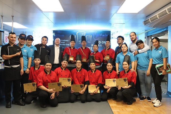 Winners and runners-up of the F&B Masters 2019/2020 – Culinary & Willy Wonka - Hotel Level Competition.