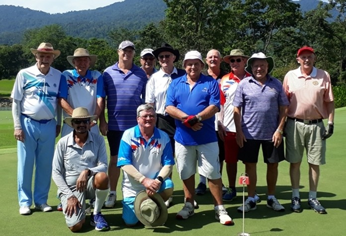 Twelve members ventured up to Chatrium Soi Dao golf resort for a two day tournament.