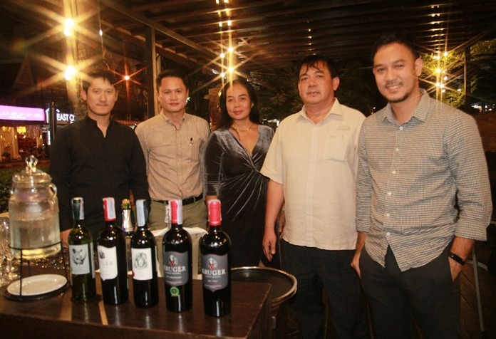 Avani food and beverage manager Pattana Wangtaphan hosted the Nov. 2 event featuring five quality South African wines.