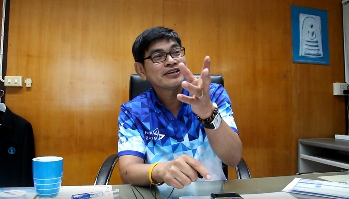 Sutat Nutchpan, Pattaya-area manager for the Provincial Waterworks Authority