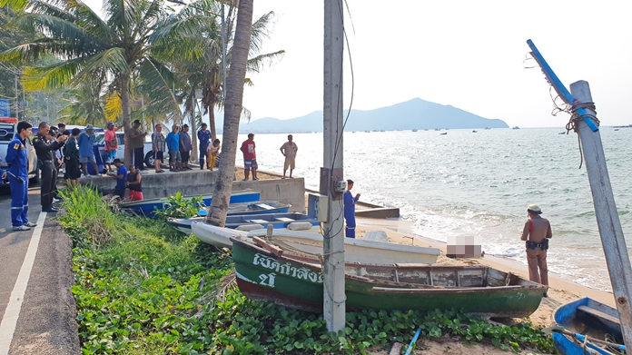 Sattahip police are investigating the death of a young, partially dressed Pathum Thani woman found dead on Bang Saray Beach