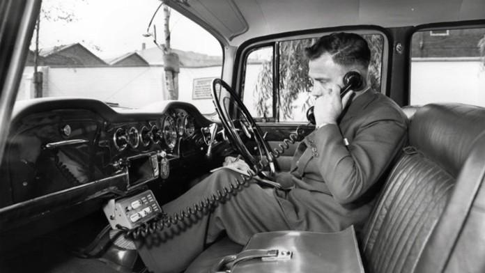 Car phone.