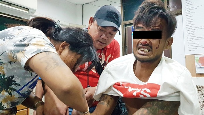 Anak Naksomboon was arrested on drug charges after wanting to reconcile with his wife and threatening to stab her to death if she refused.