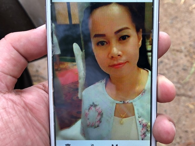 The body of Jarija Samaknin, 32, was found Nov. 14 in the driver's seat of her Toyota Altis parked at the edge of the Mabprachan Reservoir.