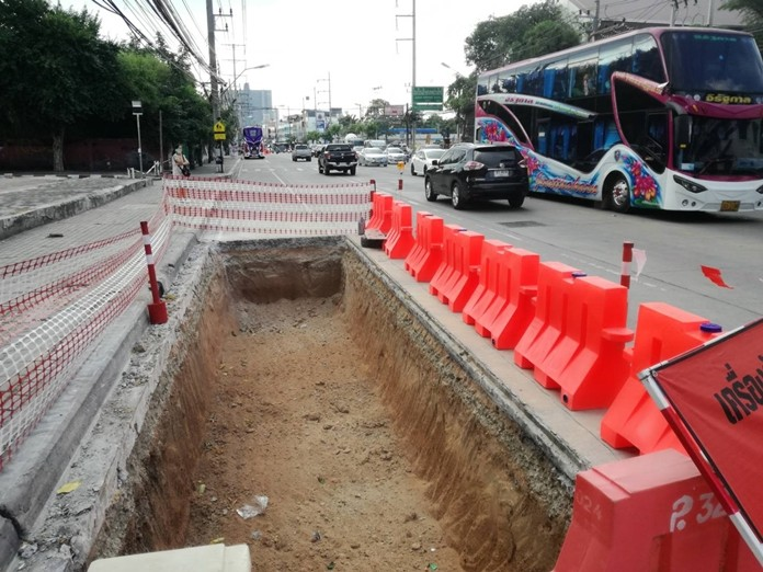 Thepprasit roadwork to continue until March