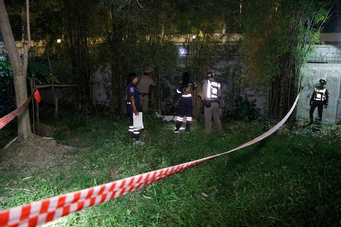 The body of Kittitat Suksrisung, 27, was found Nov. 12 outside an apartment and was later on transported to Banglamung Hospital.