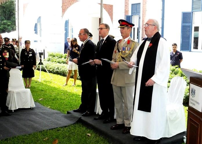 Reverend Norman Jones conducted the memorial services.
