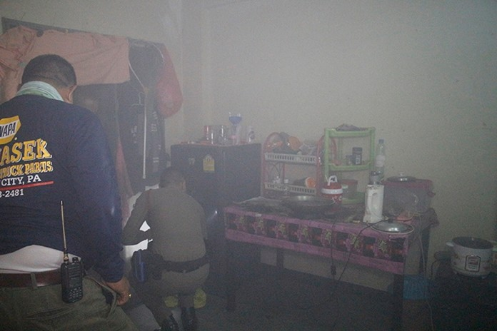 It could have been worse, but alert residents and firefighters were on scene before the fire got out of control.