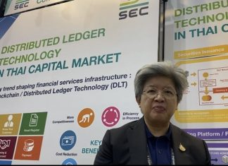 SEC Secretary-General, Ruenvadee Suwanmongkol.