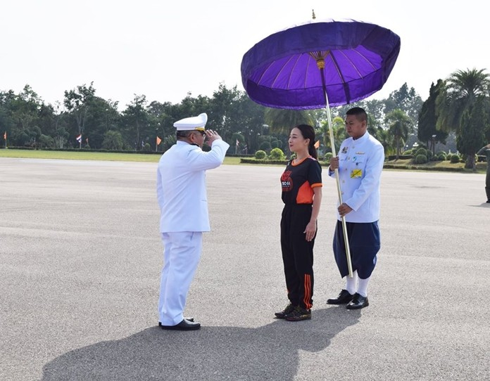 HRH Princess Bajrakitiyabha presided over the opening of a sports stadium in Phayao province.