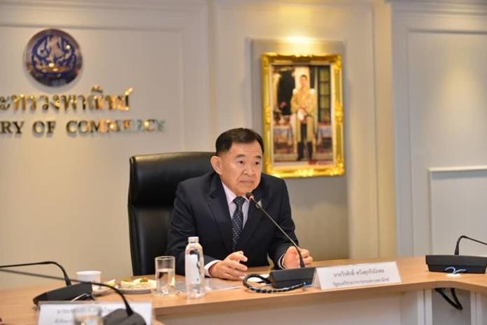 Deputy Minister of Commerce, Weerasak Wangsuphakijkosol calls for revamp of IP law.