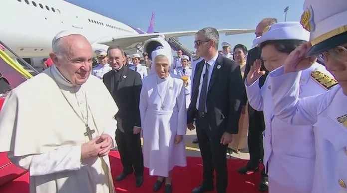 Thailand bids a fond farewell to His Holiness Pope Francis.