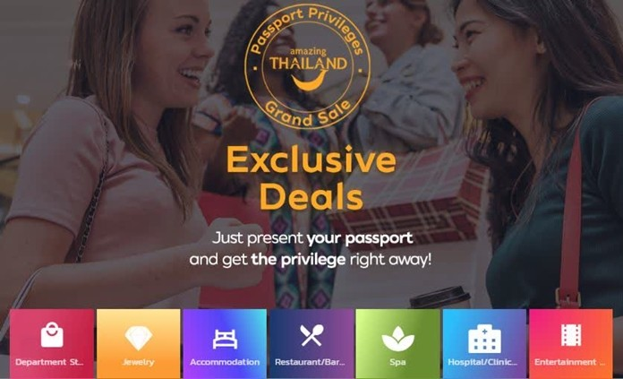TAT launches the Amazing Thailand Grand Sale Passport Privileges.