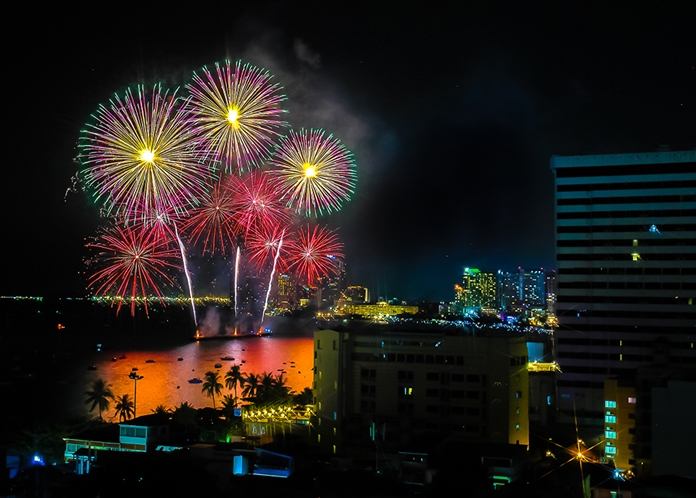 The skies will be afire and the streets clogged as the Pattaya International Fireworks Festival gets underway tonight.