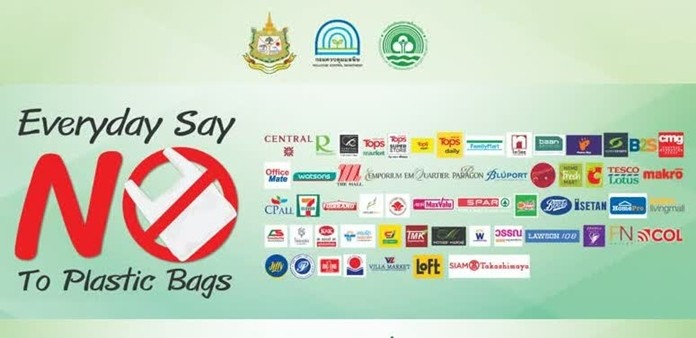 Say 'NO' to plastic bags.